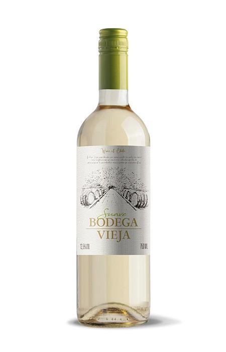 Vinho Branco - Bodega Vieja Suave - Maipo - 750ml