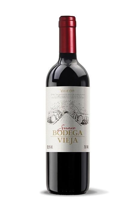 Vinho Tinto - Bodega Vieja Suave - Maipo - 750ml