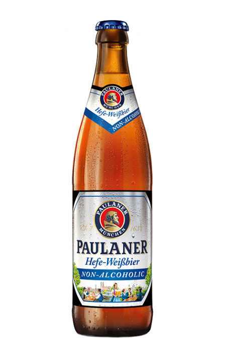 Cerveja Paulaner Hefe-Weissbier Alkoholfrei S/Alcool 500ml