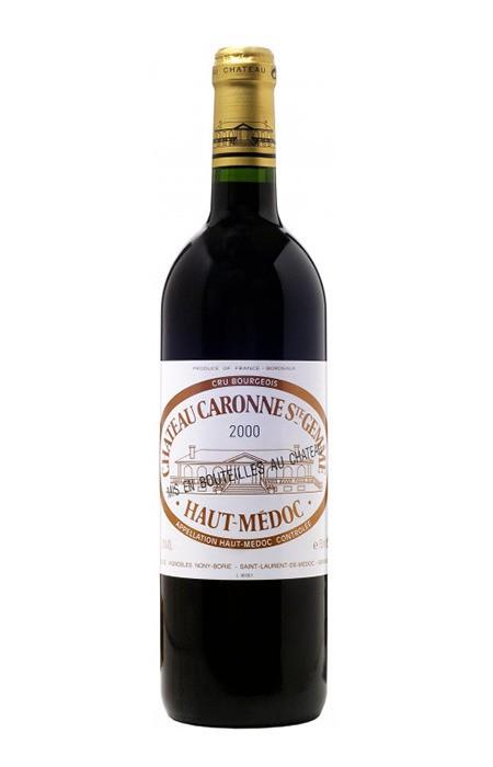 Vinho Tinto - Chateau Caronne Ste Gemme 2015- Haut Medoc, Bordeaux - 750ml