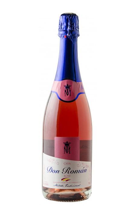 Espumante Cava Rosé - Don Roman - Penedés - 750ml