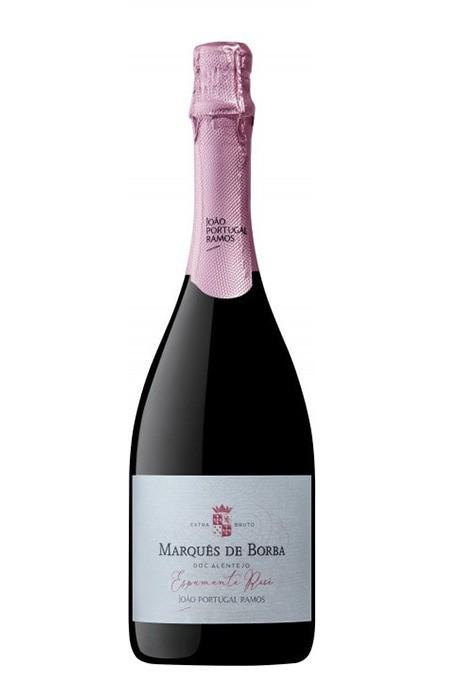 Espumante Rosé - Marques de Borba Brut - DOC Alentejo - 750ml