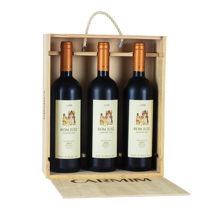 Kit 3 Vinhos bom Juiz Reserva Tinto - 750 ml