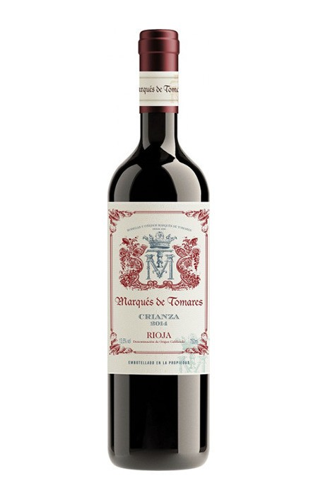Vinho Tinto - Marques de Tomares Crianza - Rioja - 750ml