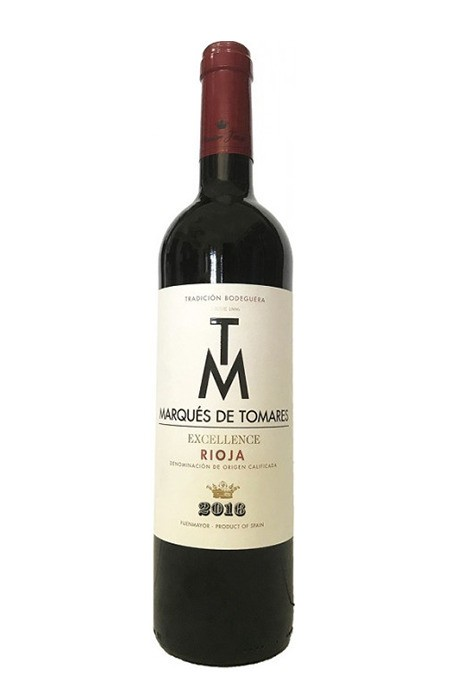 Vinho Tinto - Marques de Tomares Excellence - Rioja - 750ml