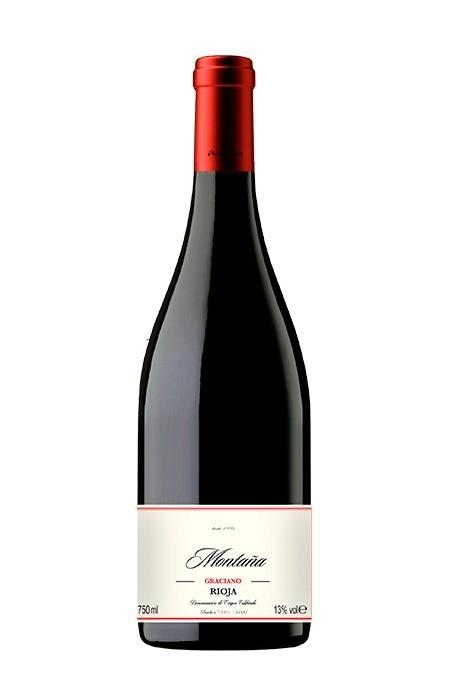 Vinho Tinto Fino - Montaña Graciano Reserva DOC - Rioja - 750ml