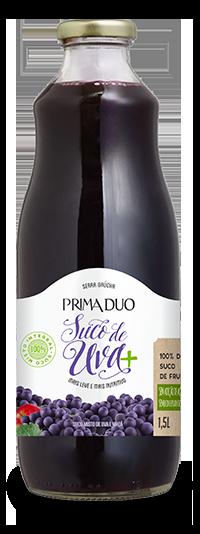 Suco de Uva Prima Duo Integral 1,5ml