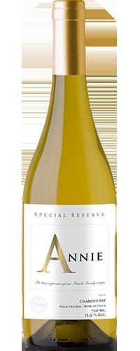 Vinho Annie Reserva Chardonnay 750ml