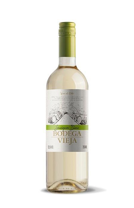 Vinho Branco Bodega Vieja Sauvignon Blanc /Sémillon Maipo 750ml