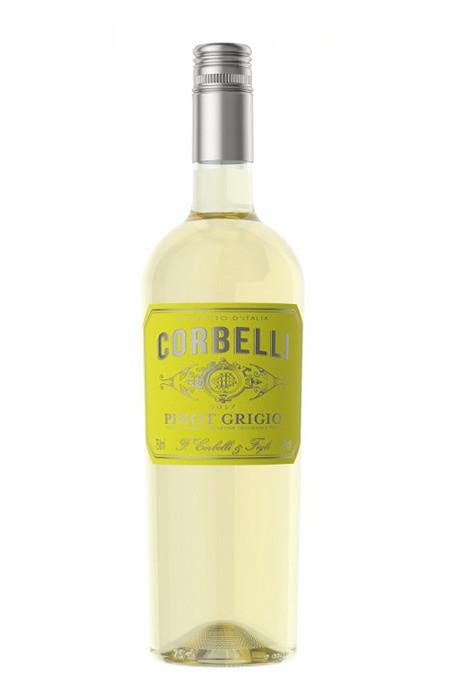Vinho Branco Corbelli Pinot Grigio IGT bco Sicilia