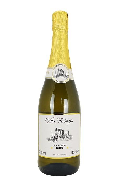 Vinho Branco Espumante Italiano Villa Fabrizia Brut