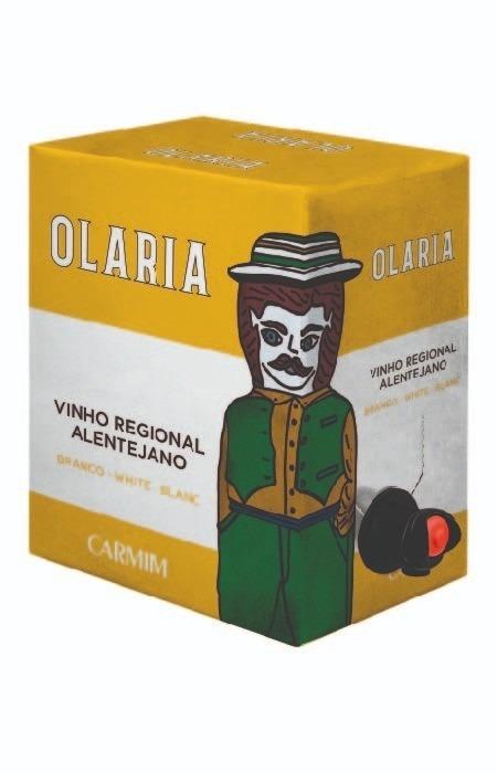 Vinho Branco Olaria Bag in Box Alentejo 5L