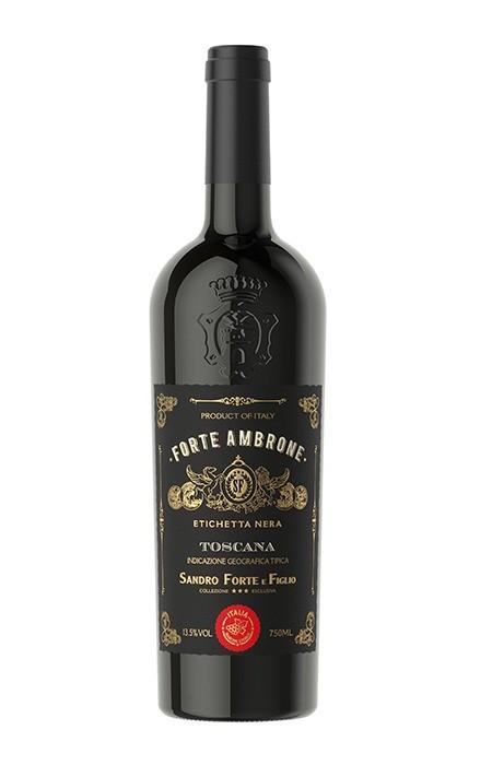 Vinho Forte Ambrone Etichetta Nera IGT (tto) Toscana