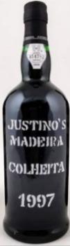 Vinho Madeira Justino's Colheita 1997