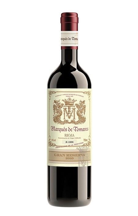 Vinho Marques de Tomares Gran Reserva Magnum (tto) Rioja Cx Mad