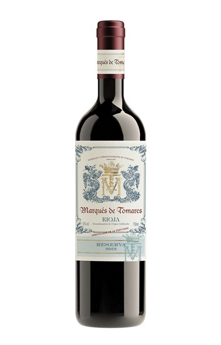 Vinho Marques de Tomares Reserva Magnum (tto) Rioja Cx Mad