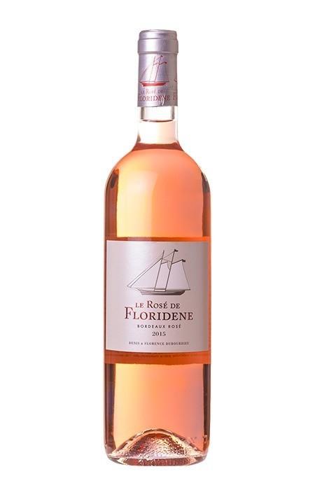 Vinho Rosé Le Rosé de Floridene Graves Bordeaux