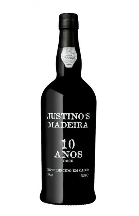 Vinho Tinto - Madeira Justino's 10 anos