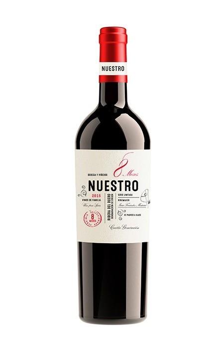 Vinho Tinto Nuestro 8 Meses (Roble) 750ml