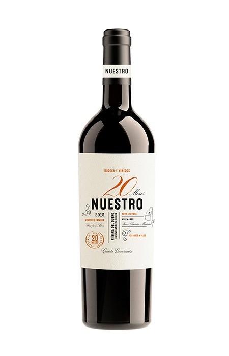 Vinto Tinto Nuestro 20 Meses (Reserva)  750ml