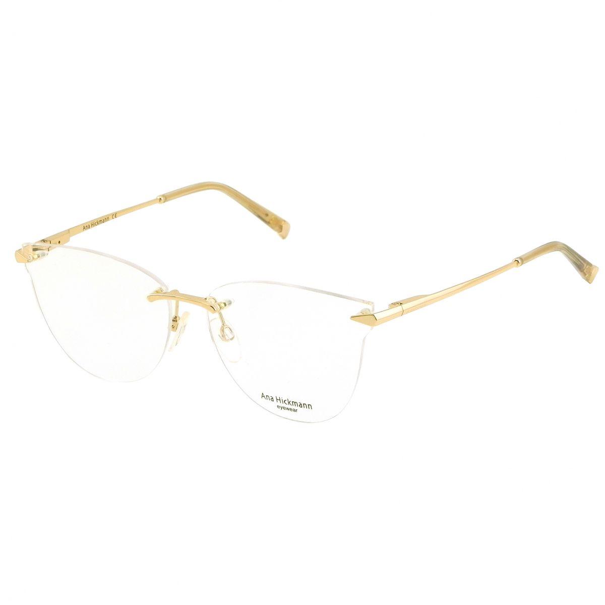 Óculos de Grau Ana Hickmann Dourado AH1407 - 04A/58.5