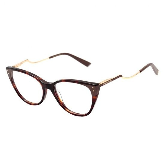 Óculos de Grau Ana Hickmann Marrom/Tartaruga AH6403 - P01/53.5
