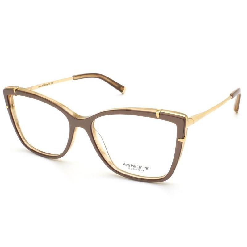 Óculos de Grau Ana Hickmann Nude AH6381 - H03/56
