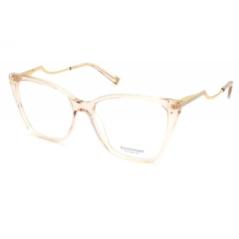 Óculos de Grau Ana Hickmann Nude Transparente AH6402 - T01/54