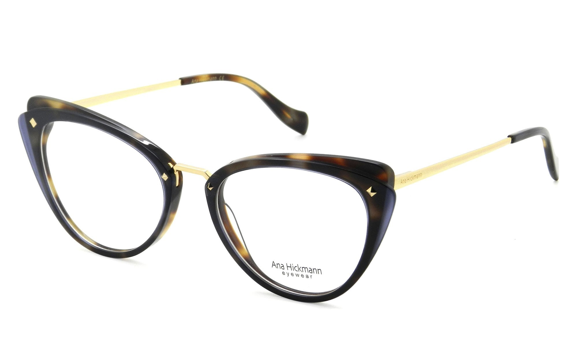 Óculos de Grau Ana Hickmann Tartaruga AH6326 - H02/52