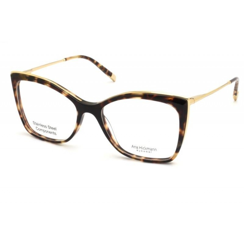 Óculos de Grau Ana Hickmann Tartaruga AH6384 - G21/54.5