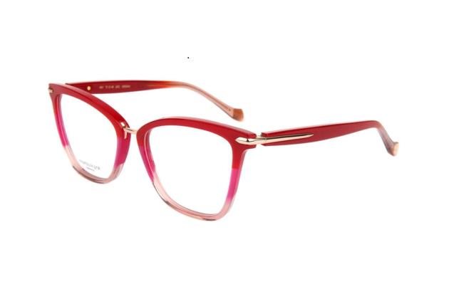 Óculos de Grau Ana Hickmann Vermelho AH6363A - C02/54