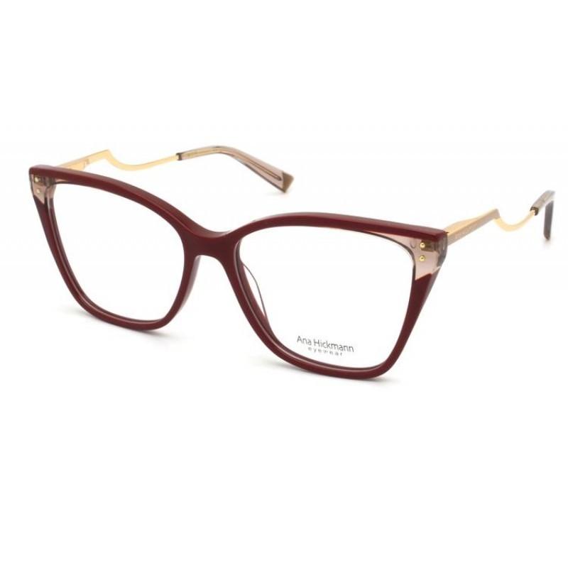 Óculos de Grau Ana Hickmann Vermelho AH6402 - P02/54