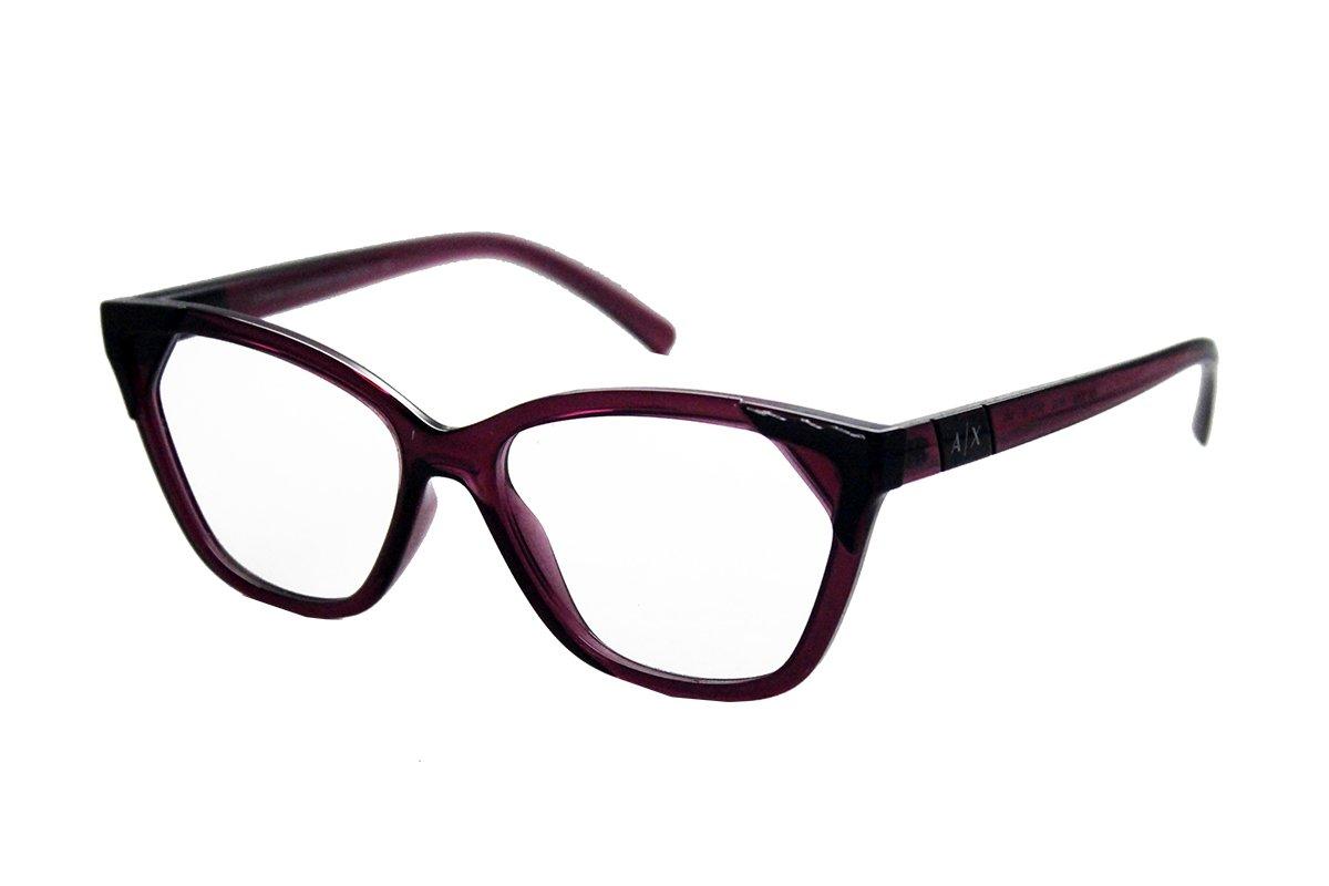 Óculos de Grau Armani Exchange Bordô Translúcido AX3059 - 6118/54