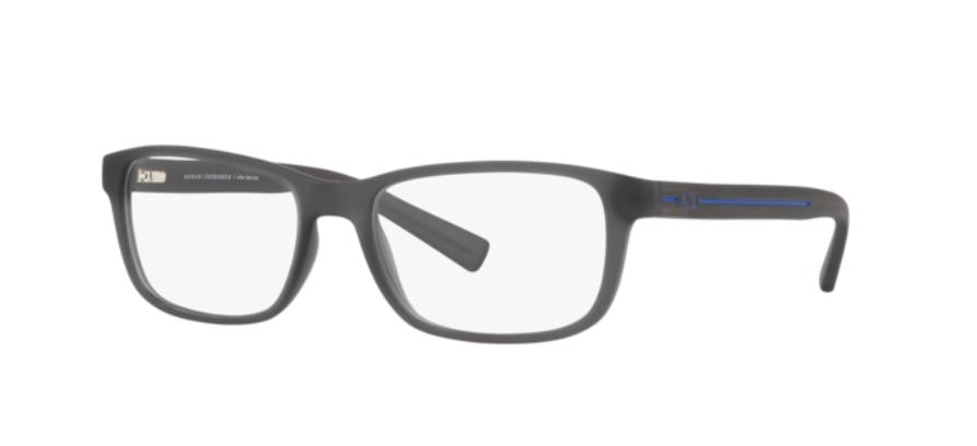 Óculos de Grau Armani Exchange Cinza Fosco AX3021L - 8297/54