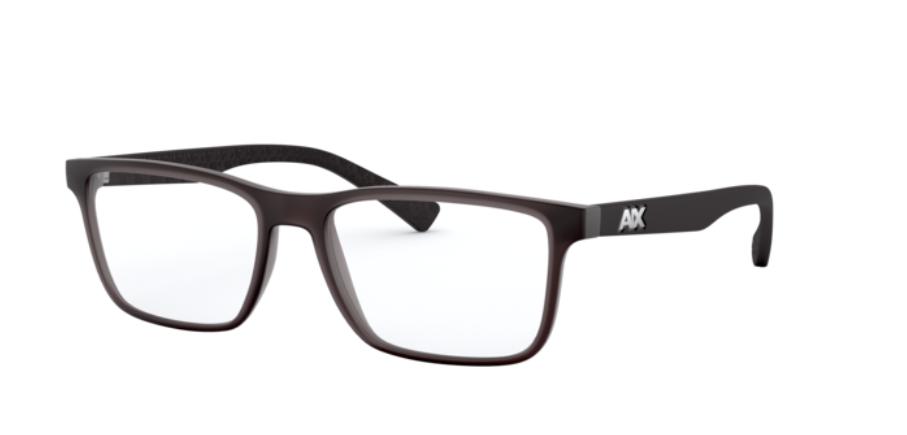 Óculos de Grau Armani Exchange Cinza Fosco AX3067 - 8304/55