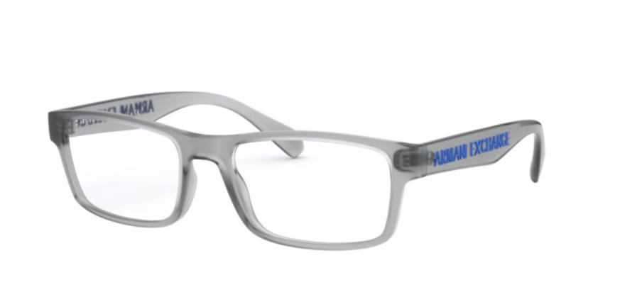 Óculos de Grau Armani Exchange Cinza Fosco AX3070 - 8310/55