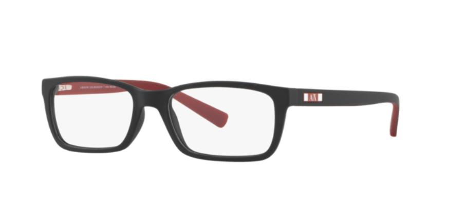 Óculos de Grau Armani Exchange Preto AX3007L - 8078/53