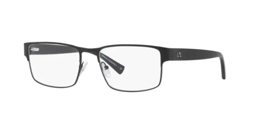 Óculos de Grau Armani Exchange Preto Fosco AX1021L - 6063/54