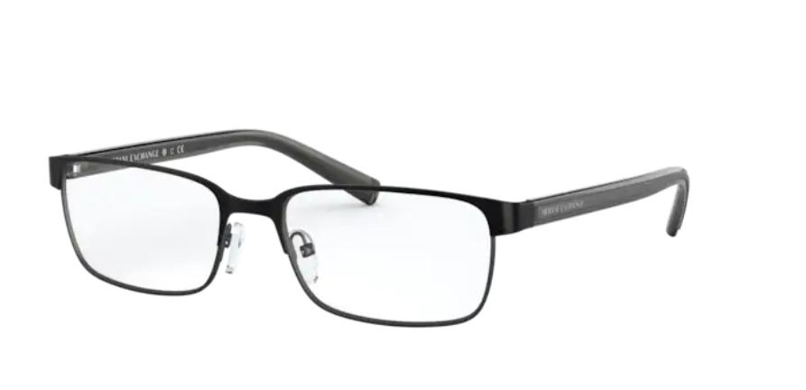 Óculos de Grau Armani Exchange Preto Fosco AX1042 - 6063/56