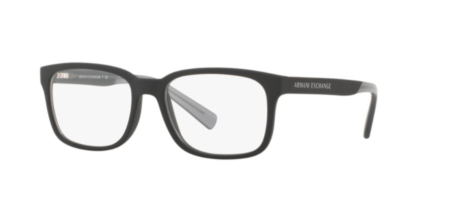 Óculos de Grau Armani Exchange Preto Fosco AX3029L - 8182/54