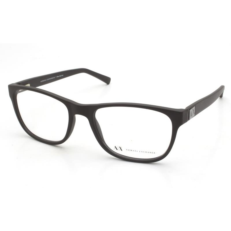 Óculos de Grau Armani Exchange Preto Fosco AX3034L - 8078/54