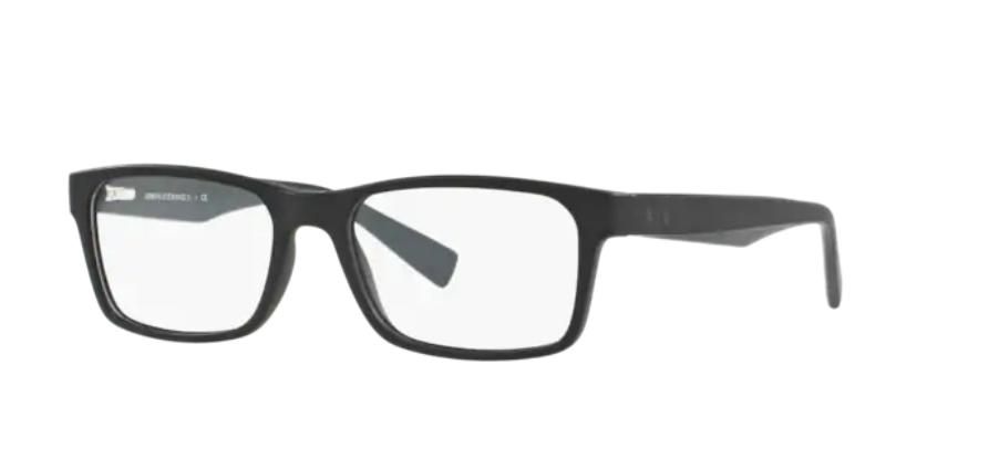 Óculos de Grau Armani Exchange Preto Fosco AX3038L - 8199/54