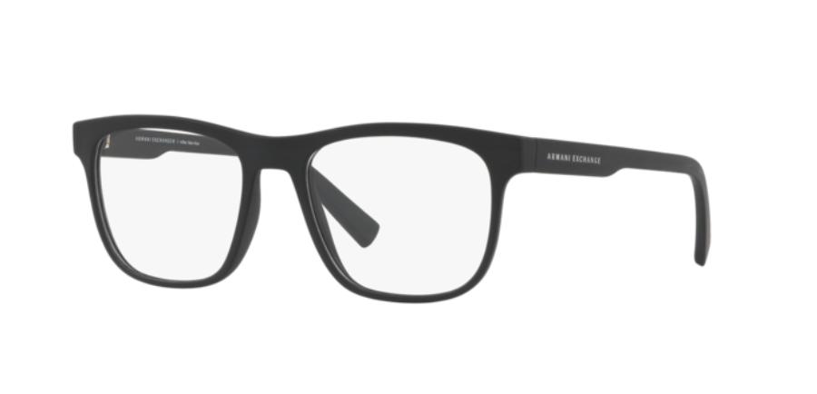 Óculos de Grau Armani Exchange Preto Fosco AX3050L - 8078/53
