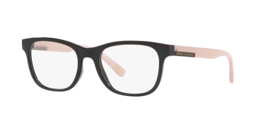 Óculos de Grau Armani Exchange Rosa/Preto AX3057L - 8307/52