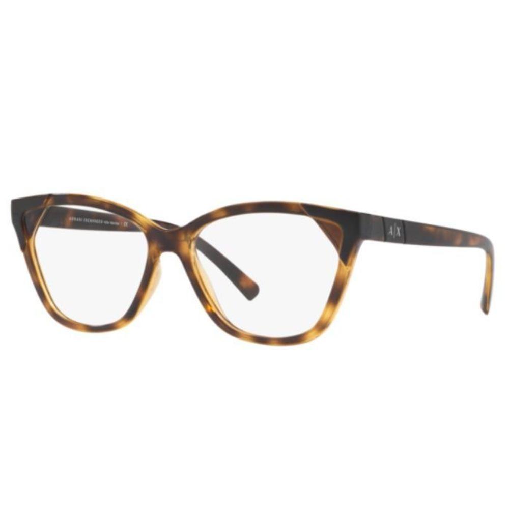 Óculos de Grau Armani Exchange Tartaruga AX3059 - 8224/54