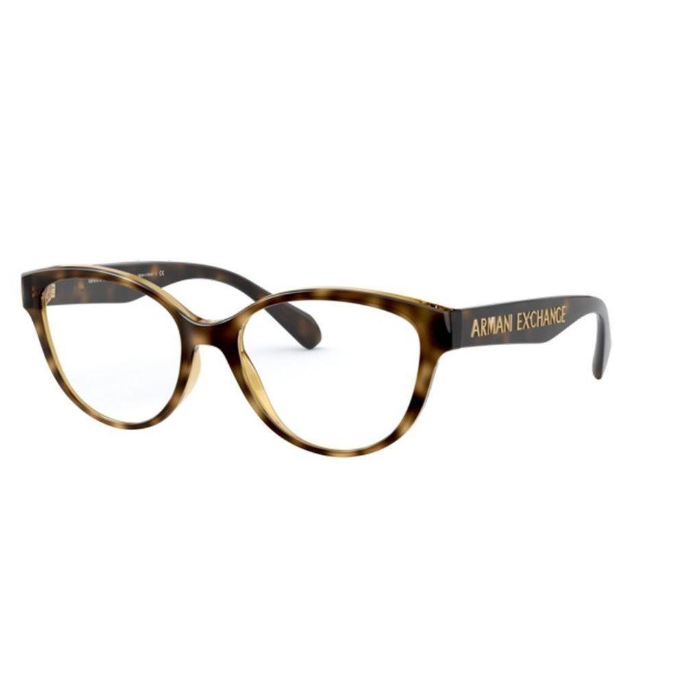 Óculos de Grau Armani Exchange Tartaruga AX3069 - 8037/53