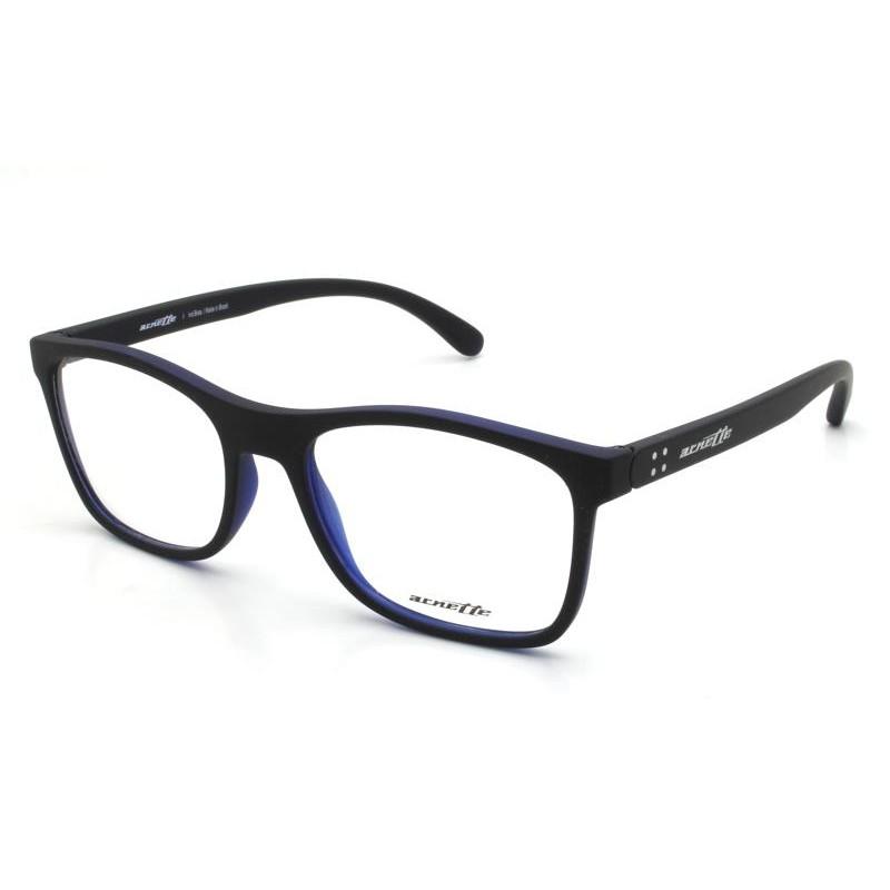 Óculos de Grau Arnette Akaw Preto/Azul AN7125L- 2645/53