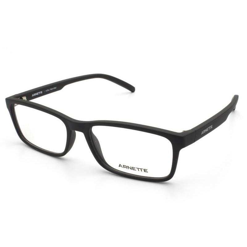 Óculos de Grau Arnette Mooca Preto Fosco AN7178L - 01/55