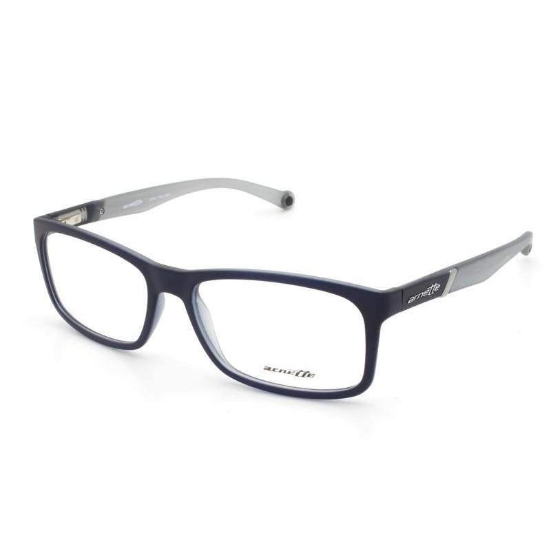 Óculos de Grau Arnette Cinza/Preto AN7089L - 2298/55