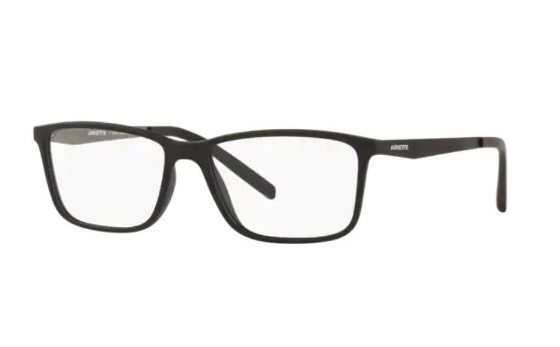 Óculos de Grau Arnette Clang Preto Fosco An7186L - 2680/56